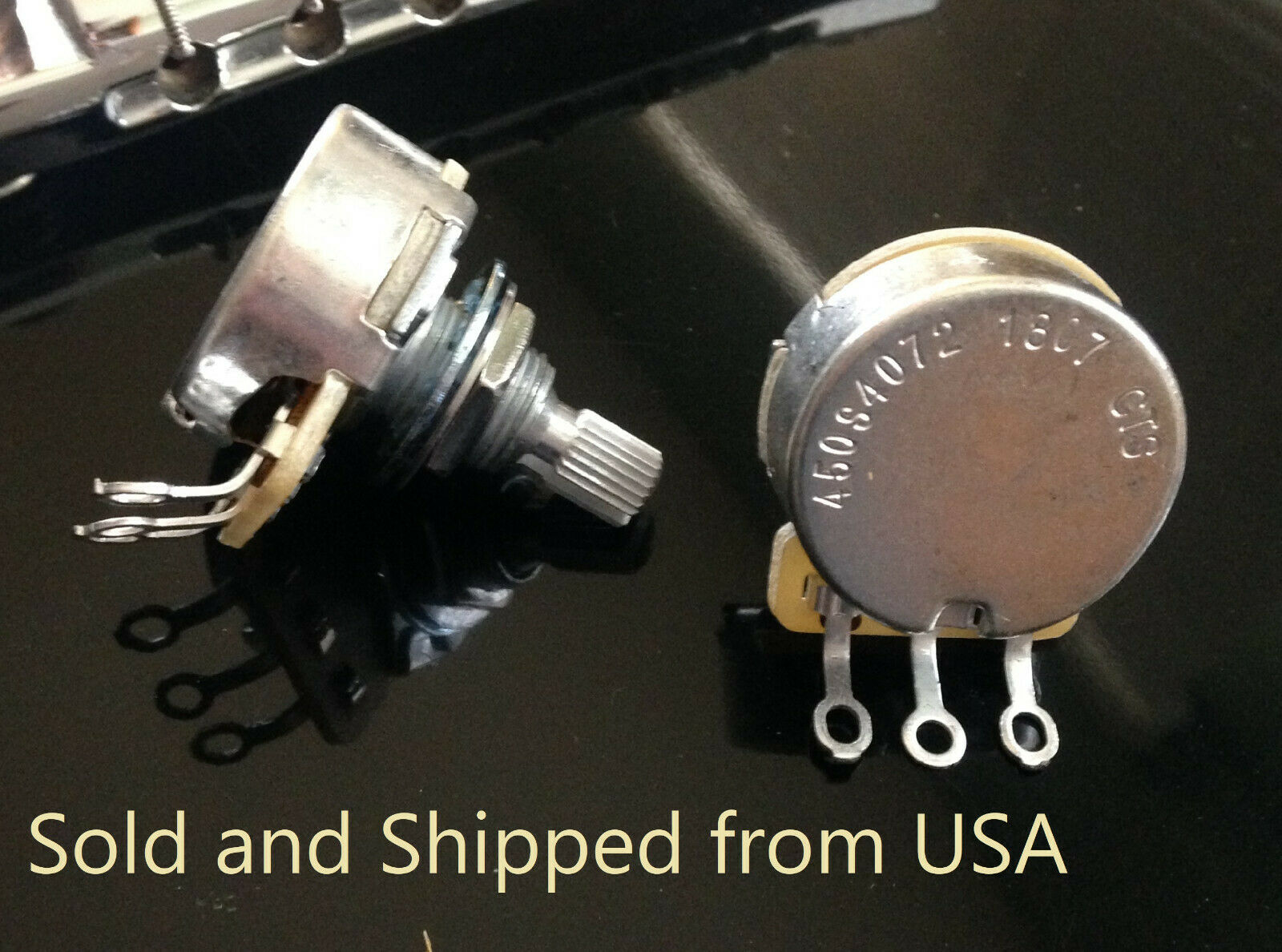 CTS 1 Meg Split Shaft Volume//Tone Potentiometer Audio Taper