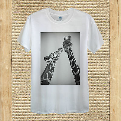 funny family holiday summer unisex women fitted Giraffes on Vacation T-shirt