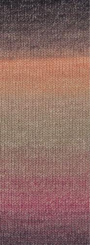 lana Grossa-gomitolo versione-FB Lana creativo 404 beige//rosa//gris 200g