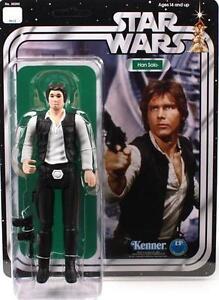 1 des 625 Vtg Han Solo Star Wars Kenner Jumbo Doux Géant Moc 12 Tête Petite Tête