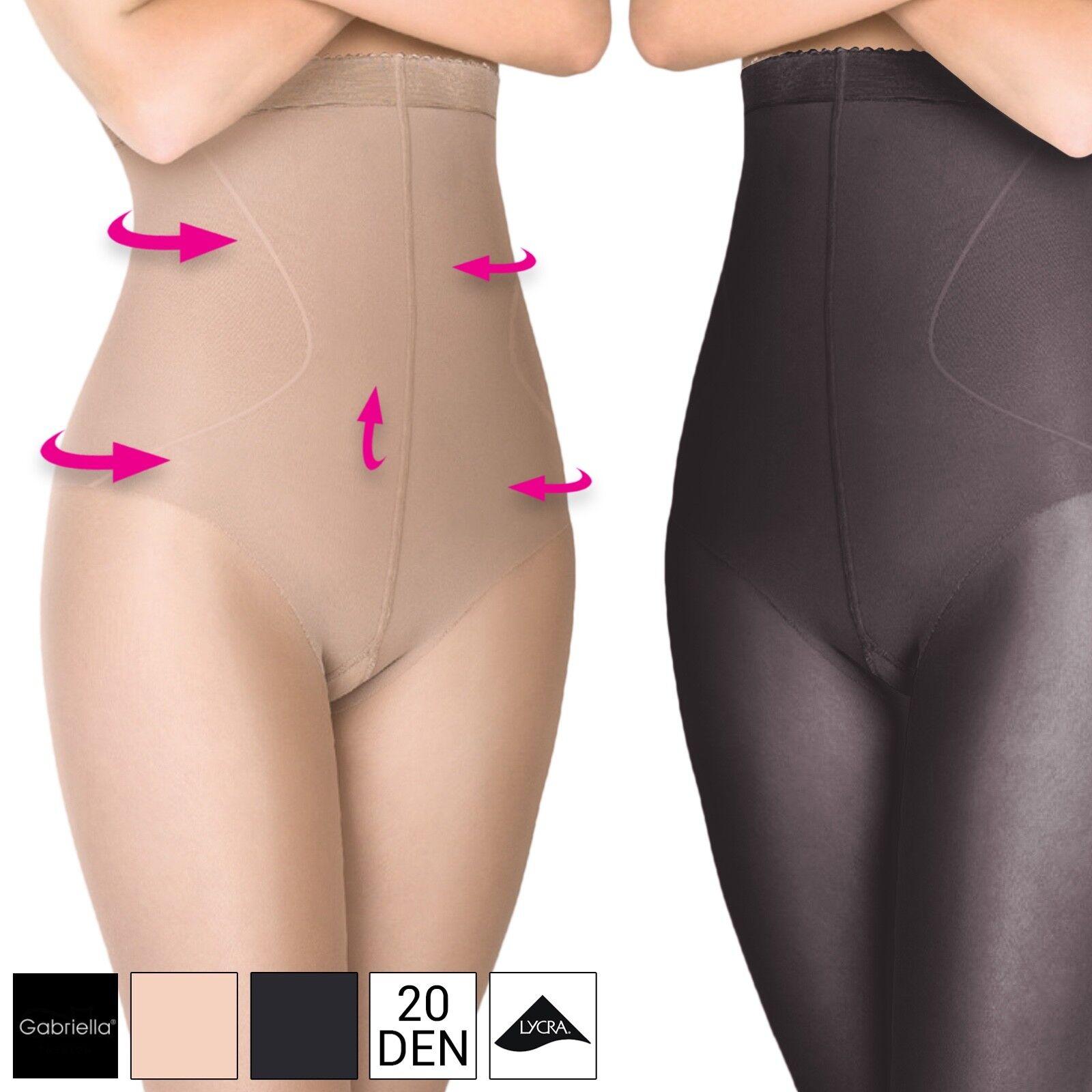Bauch-Weg Strumpfhose Push-Up Korrektur Po Lift-Up Figurformende Shapewear 20DEN