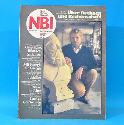 AnpassungsfäHig Ddr Nbi 13 1984 Meißen Annaberg-buchholz Zirkus Busch Reinhard Lakomy Berlin D Elegante Form
