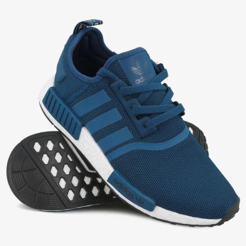 promo code 6aca6 c01fa Runner Nmd By3016 5 Black Boost R1 Sz 8 Blue Night Nomad Men Adidas Shoes  B6qw00