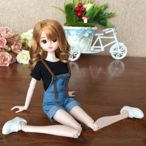 "1pc 1//6 Doll/'s T-Shirt for Blythe Dolls Causal Clothes For 11.5/"" Doll Shirts Top"