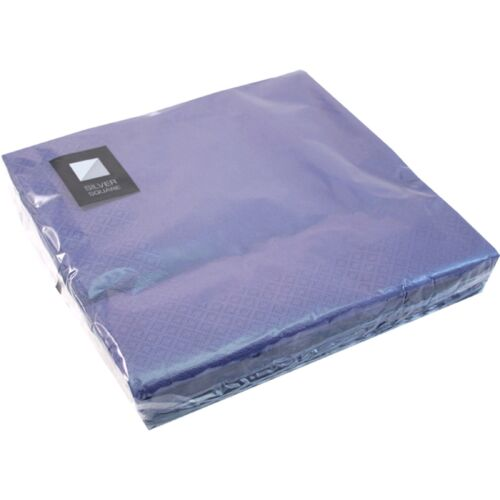 40 x Blue 3 Ply Paper Napkins 40cm x 40cm Party Serviettes Tableware Serviette