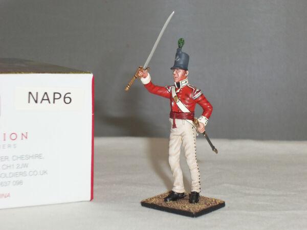 2019 DernièRe Conception Centurion Nap006 British 43rd Pied Lumière Officier D'infanterie Napoléon Toy Soldier Belle En Couleur