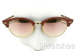 bc8017c7b18b Image is loading New-Ray-Ban-Clubround-Tortoise-Copper-Gradient-Flash-