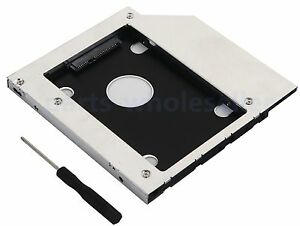 Details about 2nd HDD SSD Hard Drive Caddy for Dell Insipiron 15 3541 3542  3543 3545 DU-8A5LH