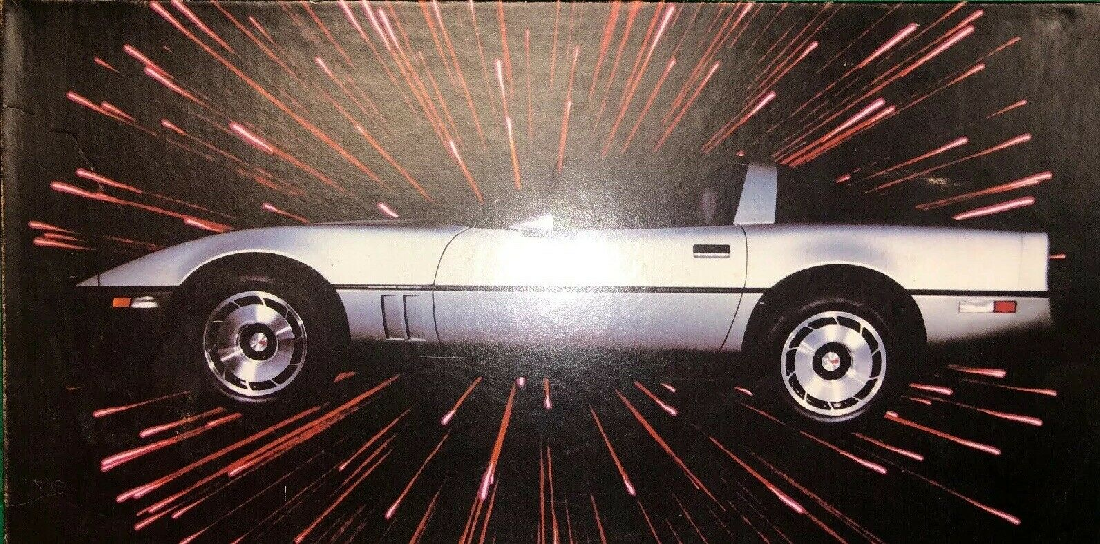 Corvette Trivia Quiz Boardgame 1985 Edition - Playing Pieces Still Sealed