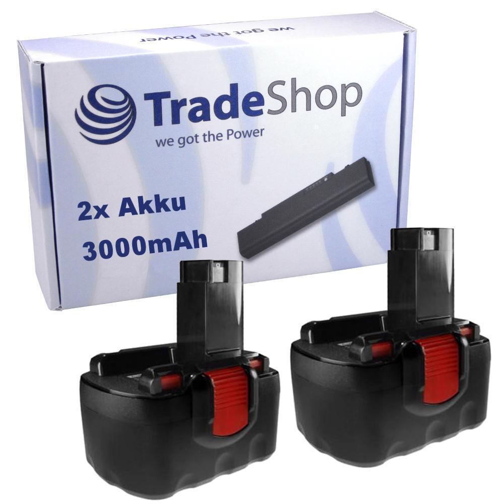 2x Akku 3000mAh für Bosch 3455-01 345501 GLI 12V GLI-12V GSB-12-VE