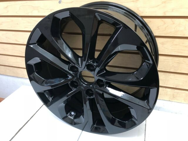 18 honda accord sport 2013 2014 2015 factory oem rim wheel 64048 gloss black n ebay. Black Bedroom Furniture Sets. Home Design Ideas