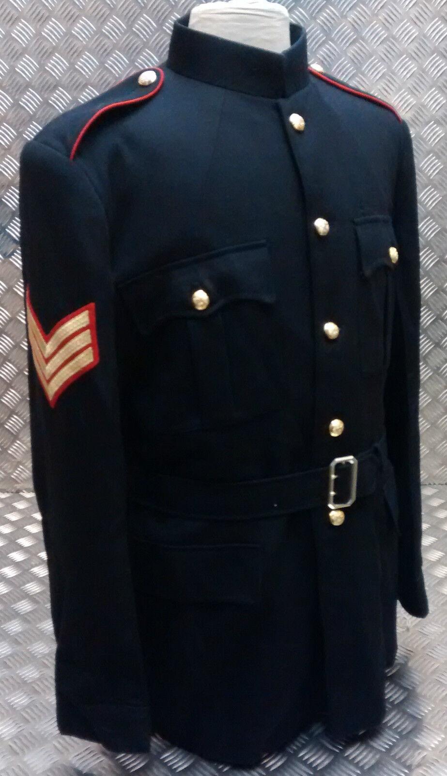 Genuine British Army Royal Artillery No1 Dress OR Tunic w Epaulettes All Größes