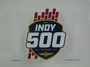 2019-Indianapolis-500-103RD-Running-Event-Collector-Decal