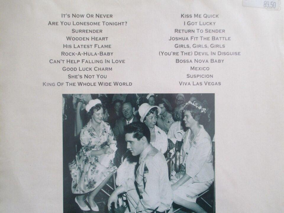 Andre samleobjekter, Elvis Presley LP og kogebog