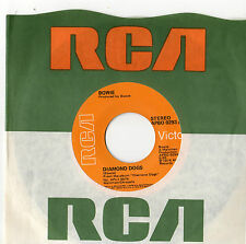 "David Bowie - Diamond Dogs  7"" SIngle 1974"