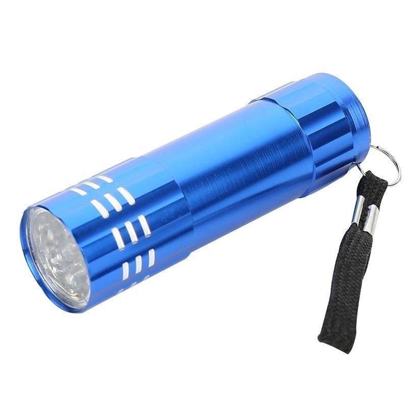 NEU  9 LED tragbar Taschenlampe Aluminium Lampe Light Light Light Licht Handlampe Flashlight 6255ad
