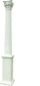 313 cm XXL Big pilar estilo 1900 ALT griega antigua estilo restaurante caffee