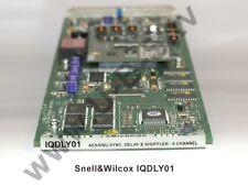 Snell&Wilcox IQDLY01 - AES/EBU SYNC. Delay & Shuffler 8 Channel