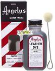 Angelus Leather Permanent Liquid Dye color paint Shoe Saddle Purse No Peel Crack