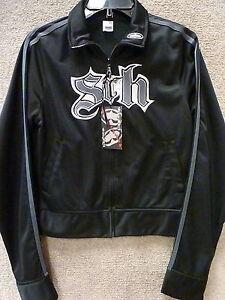 L Zip Jacket Noir Srh Femme Couleur track Taille Y51wUq