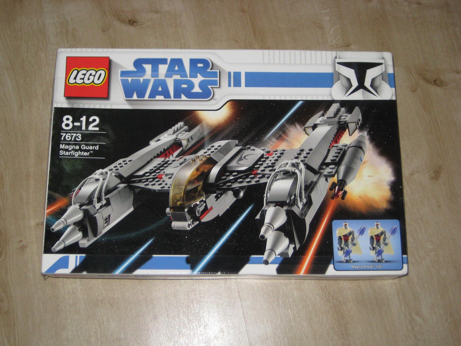 LEGO STAR WARS 7673 Magna Guard Starfighter OVP & BA & komplett