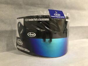 01ab6cf4 Arai GP6 / SK6 Blue Iridium Dark Smoke Visor Brand New & Genuine | eBay