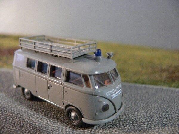 1 87 Brekina VW T1 b Gendarmerie Unfallkommando Unfallkommando Unfallkommando Österreich Bus 916669