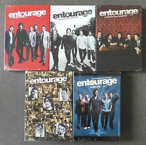ENTOURAGE : L' intégrale des Saisons 1, 2, 4, 5 et 6 - 4 Coffrets DVD neufs