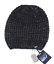 thumbnail 1 - William Rast Women's Washed Waffle Black Beanie knit hat One Size