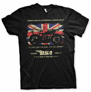 BSA-Motor-Cycles-The-Journey-Official-Merchandise-Motorrad-T-Shirt-M-L-XL-Neu