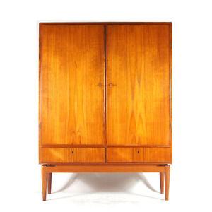 Retro Vintage Danish Teak Sideboard High Drinks Cabinet Dresser Wardrobe 60s 70s