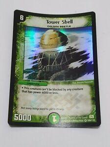 Duel masters card skyscraper shell rare!!!