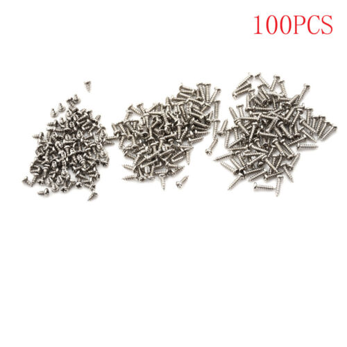 100pcs M2 Screw Thread Diameter Round Head Cross Screws Self Tapping ScrewHGFO