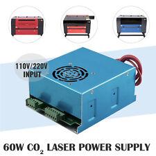 60w Co2 Laser Power Supply For Laser Engraving Cutting Machine 220v110v