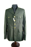 Vintage De Rossi & Son Military Coat Men's Army Green Deadstock Costume