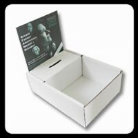 6 Charity Wristbands Display Boxes