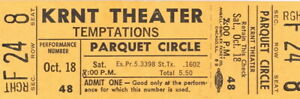 THE-TEMPTATIONS-1969-CLOUD-NINE-TOUR-UNUSED-KRNT-CONCERT-TICKET-NM-2-MINT-No-1
