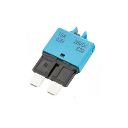 Circuit Breaker Blade Fuse Resettable Manual 5A//6A//7.5A//10A//15A//20A//25A//30A