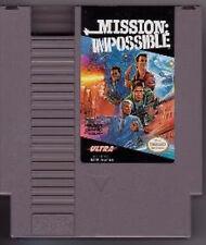 MISSION IMPOSSIBLE ORIGINAL CLASSIC NINTENDO GAME ORIGINAL NES HQ