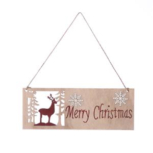Joyeux Noël Paillettes Cintre Signe de Noël à suspendre DECOR 29 cm UK Vendeur
