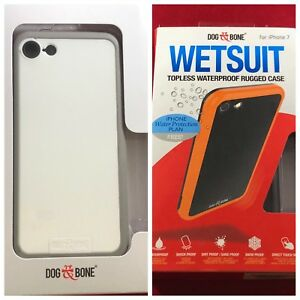 NEW-Apple-iPhone-7-8-Only-OEM-Dog-amp-Bone-Wetsuit-Waterproof-Topless-Case