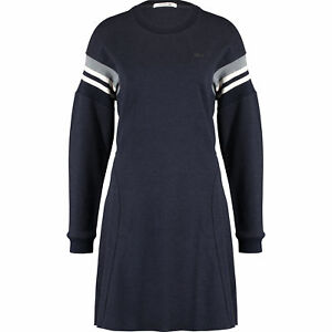 customers first classic style of 2019 big selection Details about LACOSTE Women's Blue Marl Sporty Jumper Dress, size Large /  FR 42