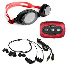 Underwater Audio's SYRYN MP3 Player AND Black Swimbuds Headphone Bundle