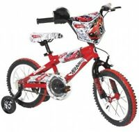 Boy's 14-inch Hot Wheels Bike Cycle Bicycle Dynacraft Cycling Learn First