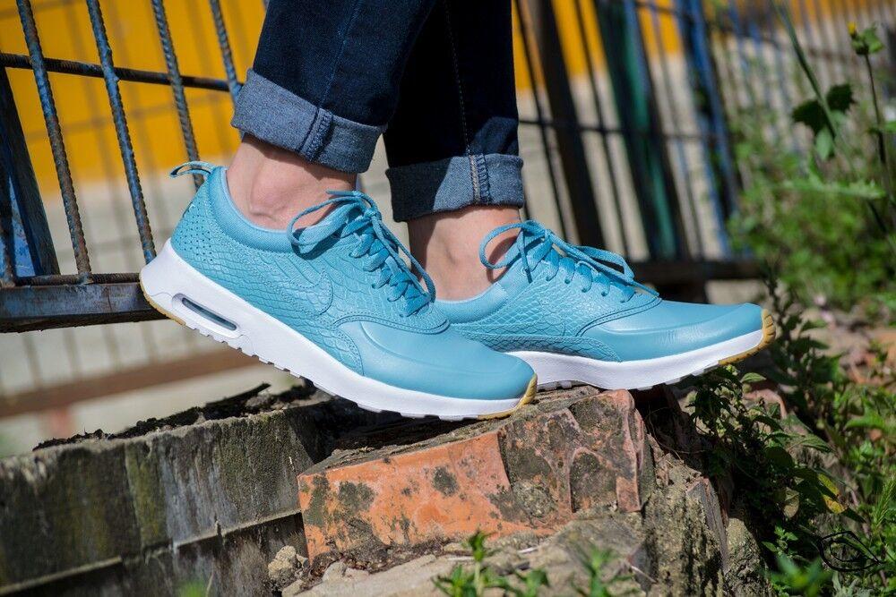 Nike Air Max Thea Premium Mica Blue Wmns Sz 8 Limited 616723-403
