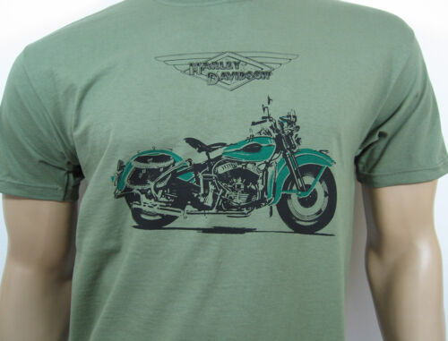 HARLEY-DAVIDSON WL T-SHIRT Classic US American Motorcycle V-Twin Flathead WLA