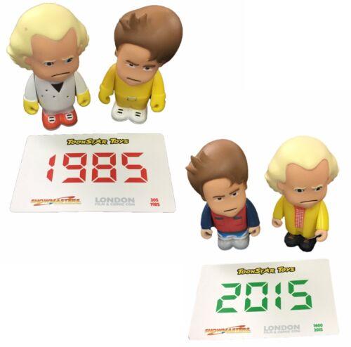 """1985 /& 2015 Box Set Ritorno al futuro FUMETTI CON LTD ED 3 /""""CARICATURA cifre"""