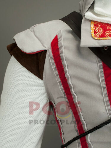 In Stock/&Ready Ship~ Assassin Ezio Auditore da Firenze Cosplay Costume mp000169