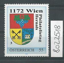 Österreich PM personalisierte Marke Philatelietag 1172 WIEN 8022518 **