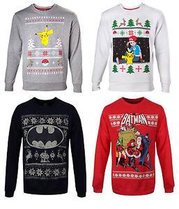Pokemon Christmas Sweater.Details About Adults Mens Unisex Pokemon Pikachu Batman Star Wars Christmas Sweater Jumper